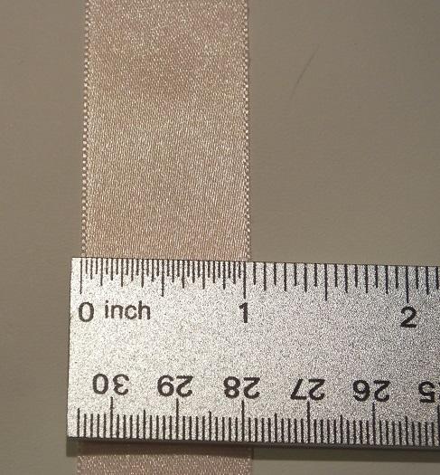 1 inch non-fray edges