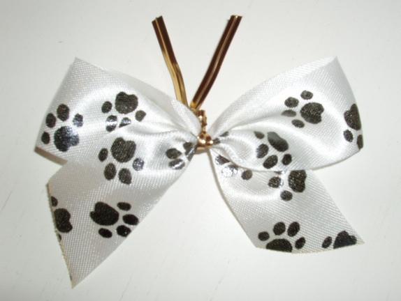 Pet PAWS 3 inch BOWS: 100 bows per bag, $35.99 per bag