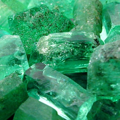 Chemical Formula: Al2Be3Si6O18  Emerald is the traditional birthstone of May.