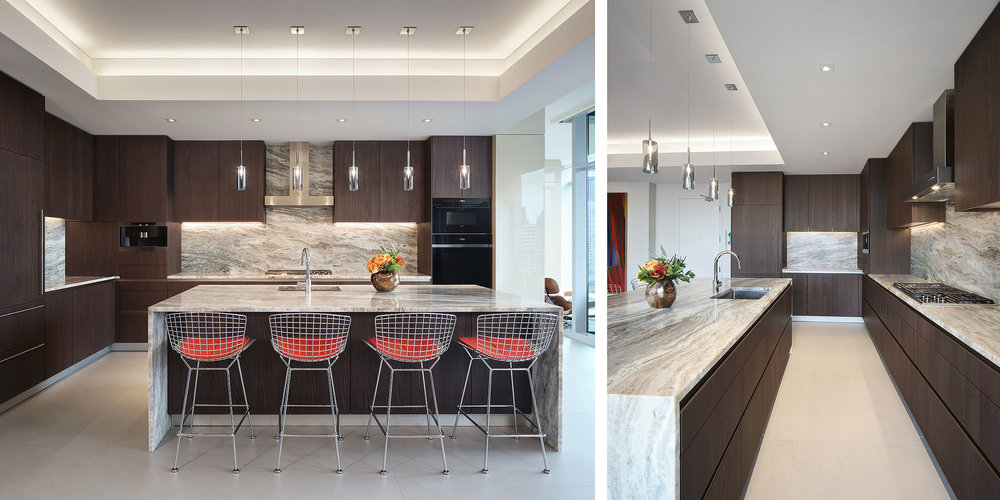 Kitchen photography for custom cabinetry