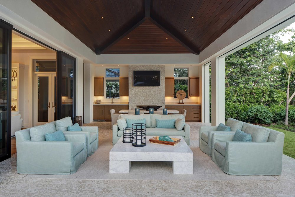 Residential photography for indoor/outdoor space