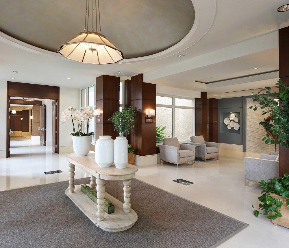 Hotel lobby photographer