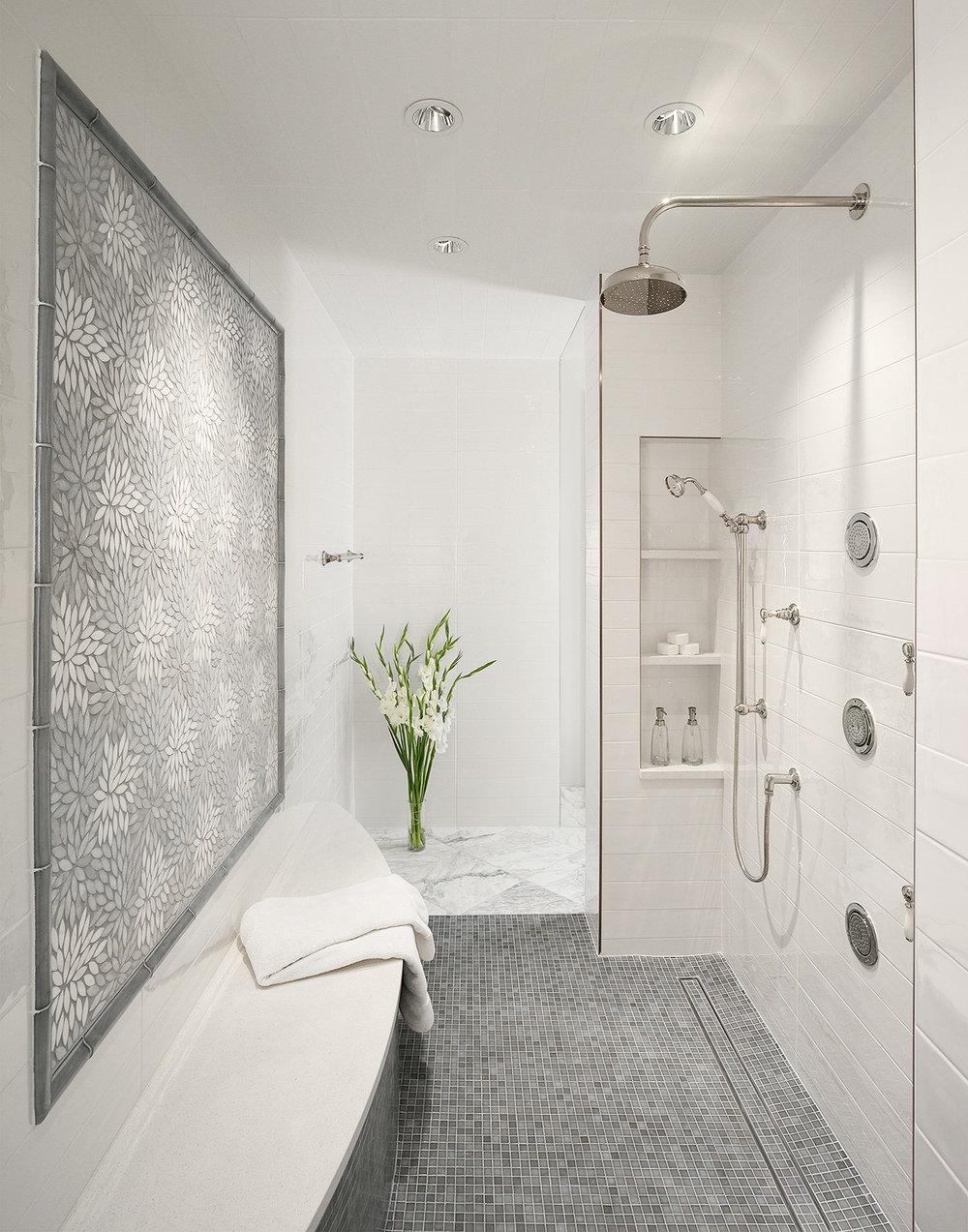 Luxury bathroom photography