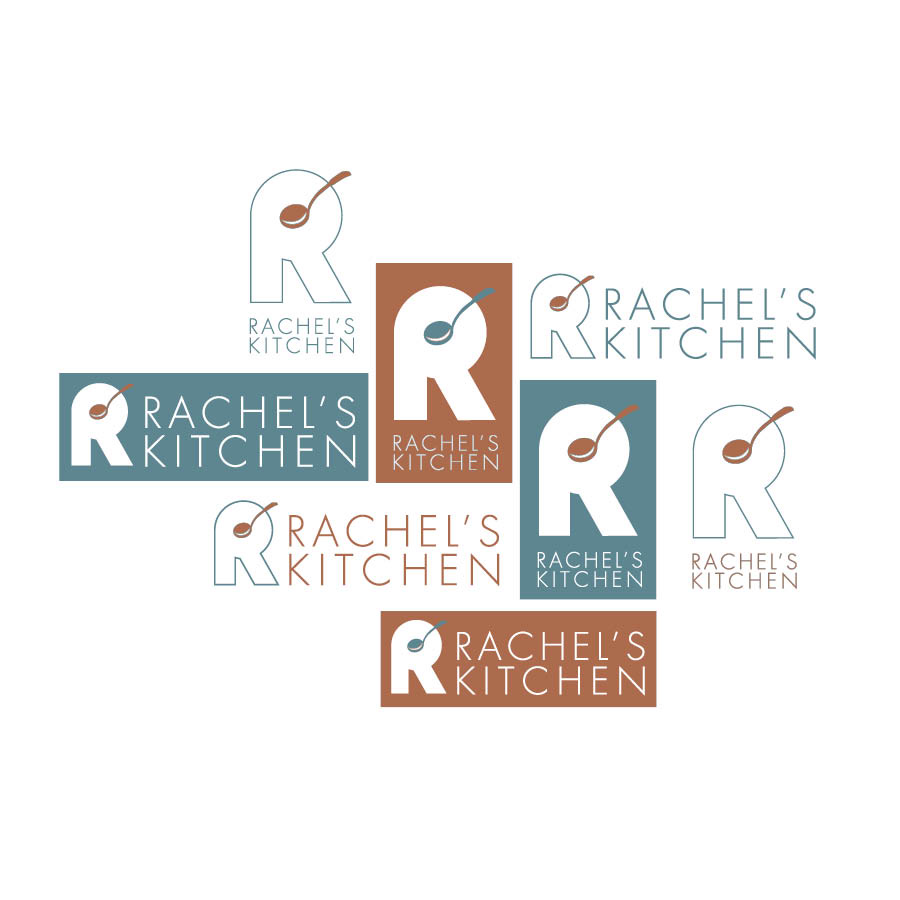 Rachel's Kitchen Logo Variations