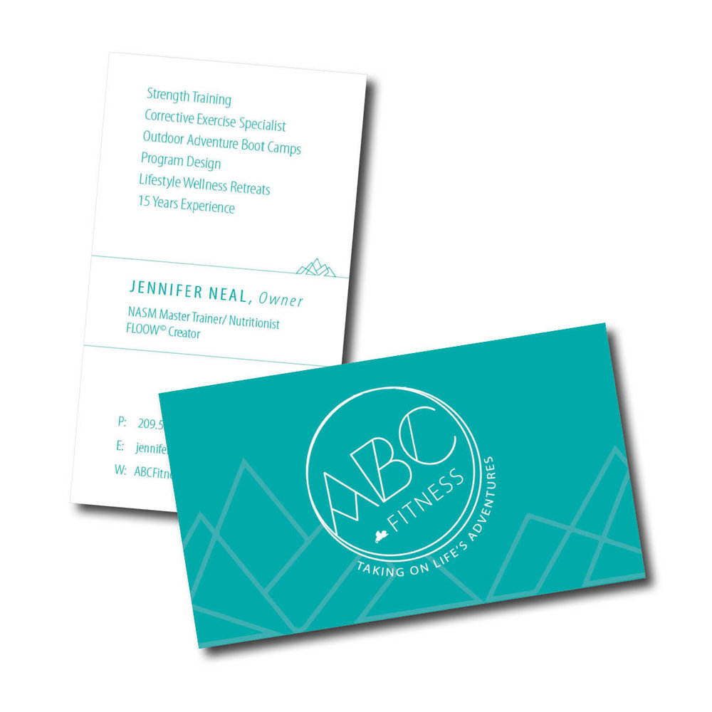 ABC Fitness Business Card