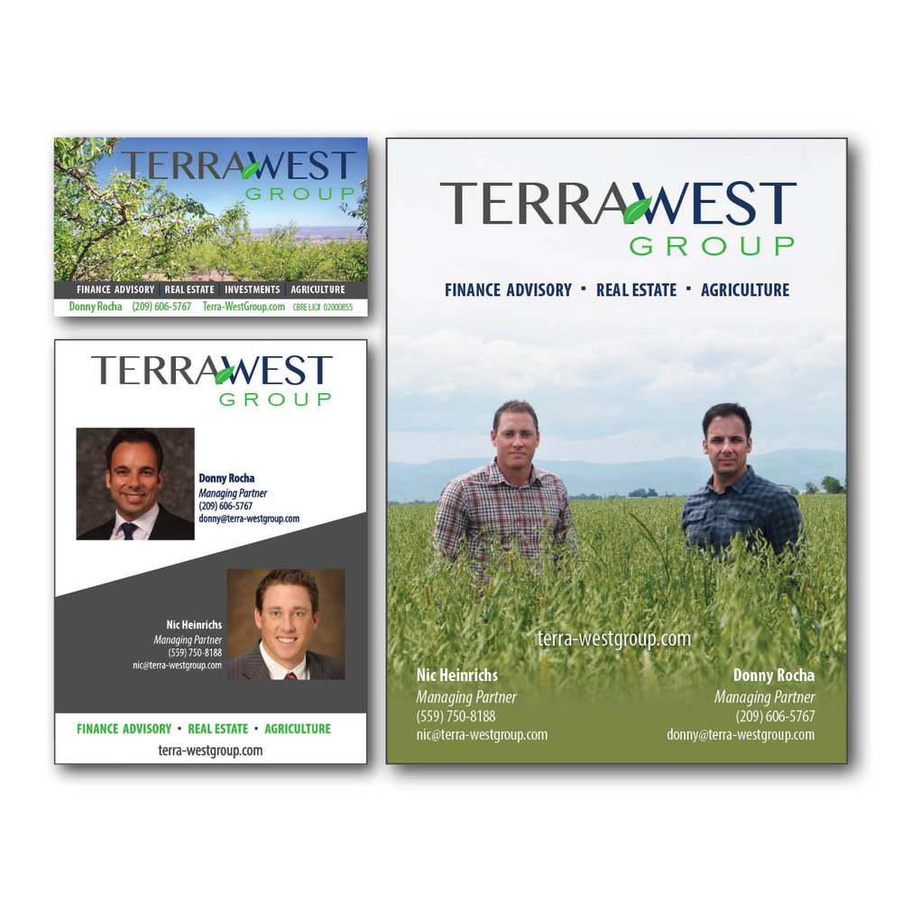 Terra West Group Print Collateral
