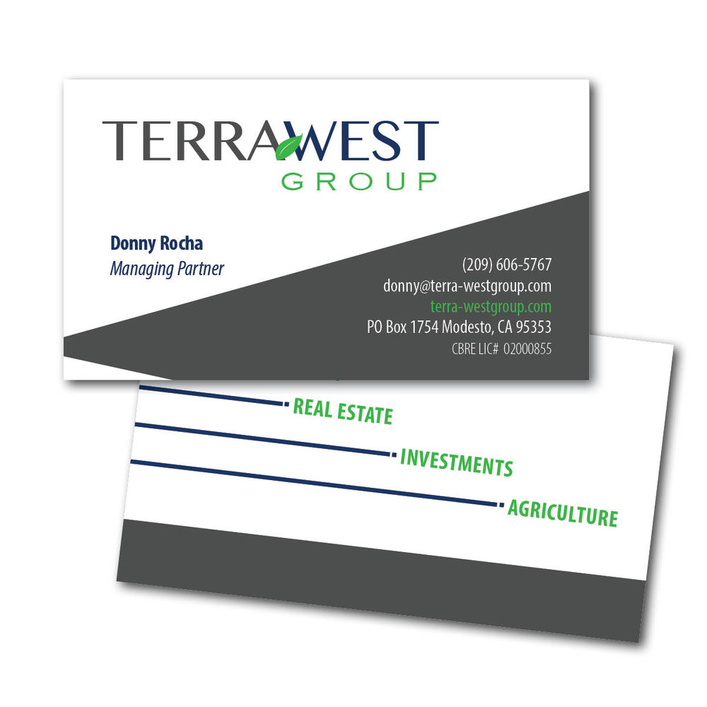 Terra West Group Business Cards