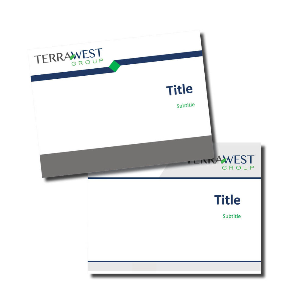 Terra West Group Collateral Items
