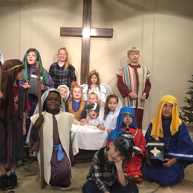 The children's ministry at North Stuart Baptist Church provides opportunities for nursery through 5th grade, including a children's choir and Awanas Kid's Club, on Sundays and Wednesdays.