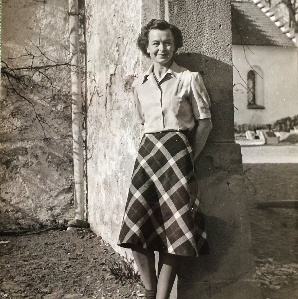 Ellen och Carl-Phlip Bonde öppnade Bosjökloster för besökare i början på 1960-talet
