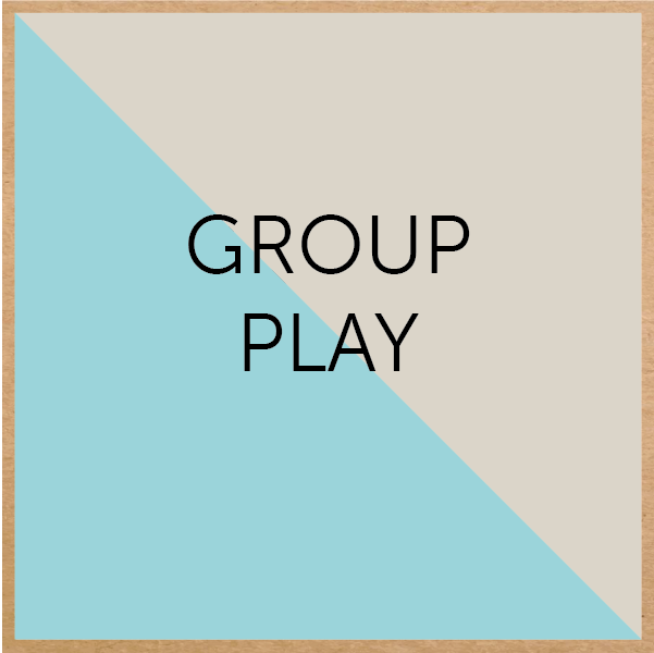 Group play is great for team building and development of social and emotional skills.