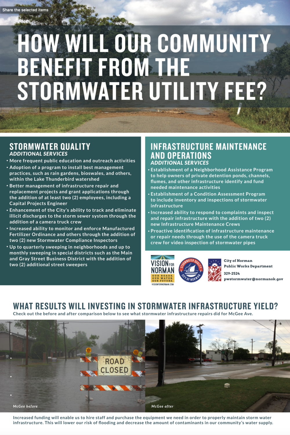 How will a Stormwater Utility benefit our community?