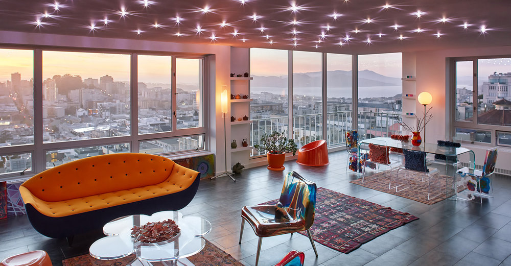 Modern Eclectic - Nob Hill, San Francisco