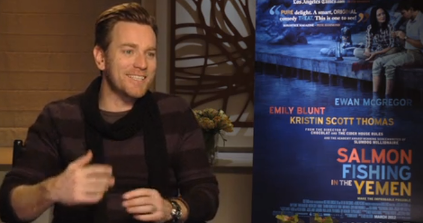 Ewan McGregor - 'Salmon Fishing in the Yemen' Press Tour