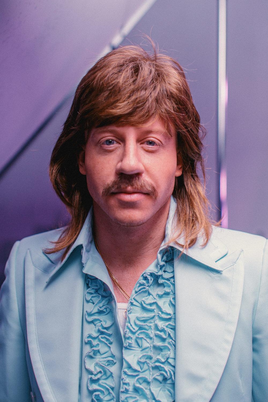 Macklemore - Wig & Facial Hair