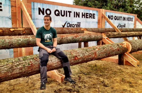 Bear Grylls - Tough Mudder Press Event