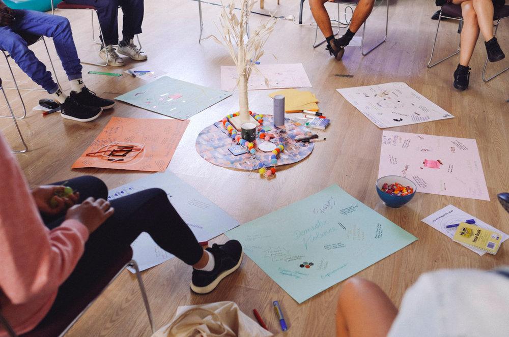 Young Initiators circle, Carlton / Yarra workshop, March 2019