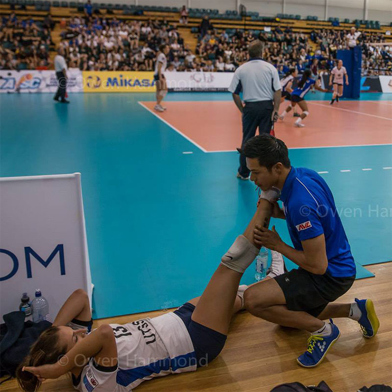 Dr Steve worked as a sports chiropractor in the Australian Volleyball League, alongside other top health professionals