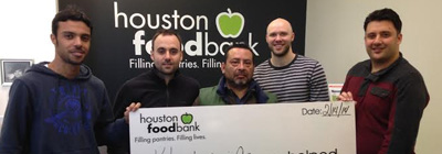 Houston Food Bank - On a yearly basis, Khudairi Group employees volunteer at the Houston Food Bank, a non-profit organization that collects and distributes food to hunger relief charities. The team cleans, prepares meals, and helps serve food.