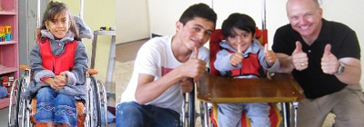 Wheelchairs for Kids - Wheelchairs for Kids International helps children with disabilities by providing them with high-quality pediatric wheelchairs. The wheelchairs enable the children to discover a new level of mobility not previously experienced. Additionally, the family members of the child no longer have to carry the child from place to place.