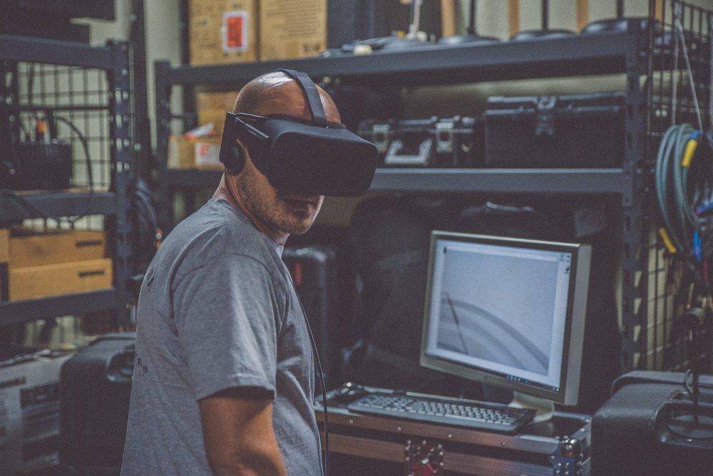 Salles immersives - Venez tester vos projets dans d'autres réalités !