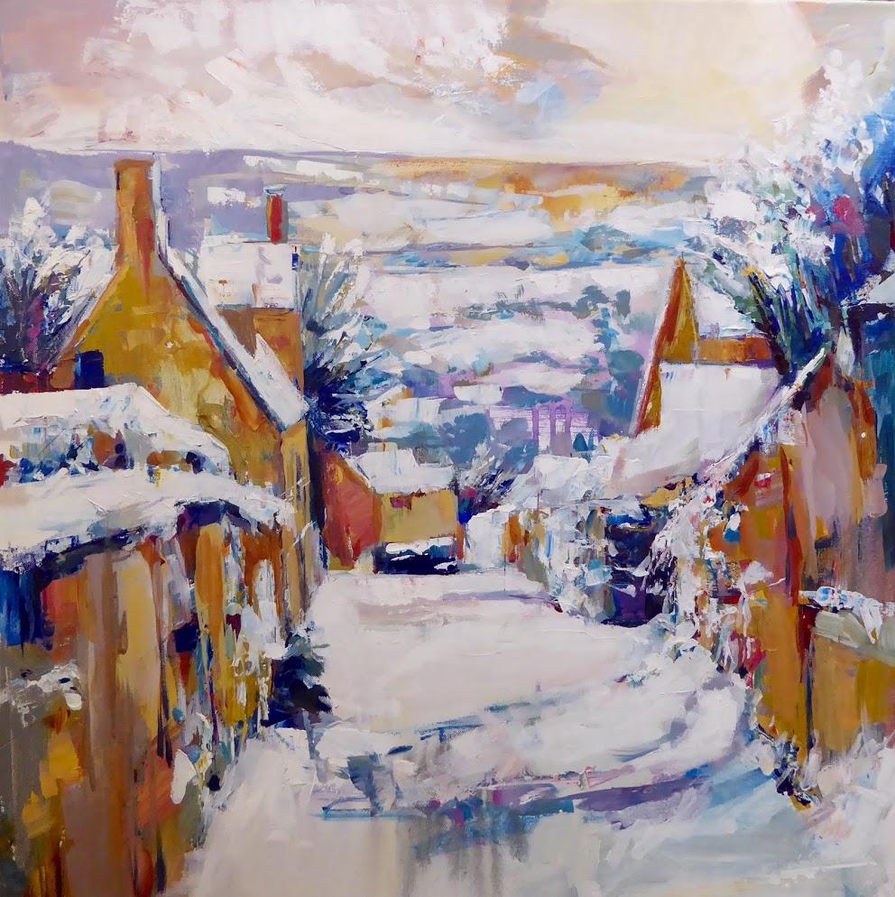 Painswick, acrylic on canvas
