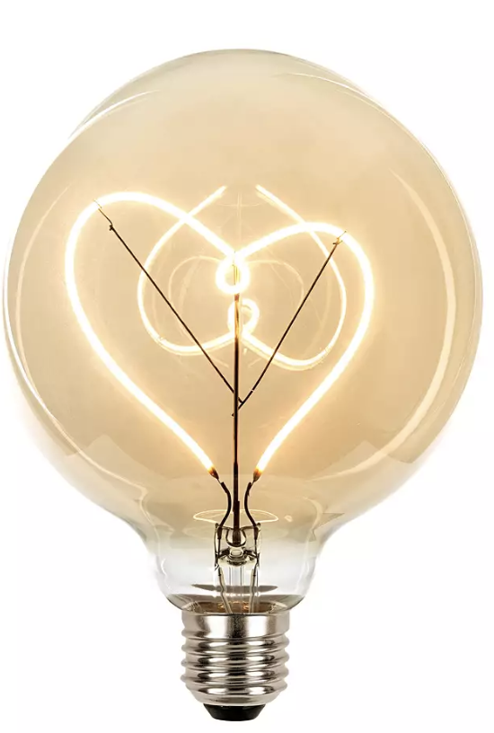 Hato Heart LED Light Bulb - £25