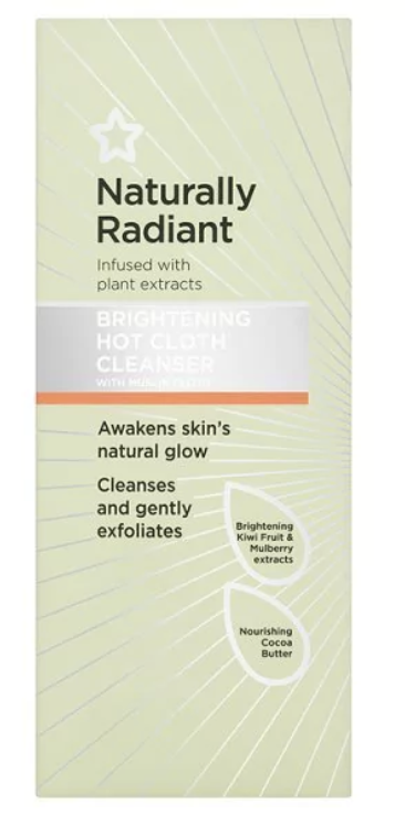 Superdrug Naturally Radiant Hot Cloth Face Cleanser 150ml - £2.89