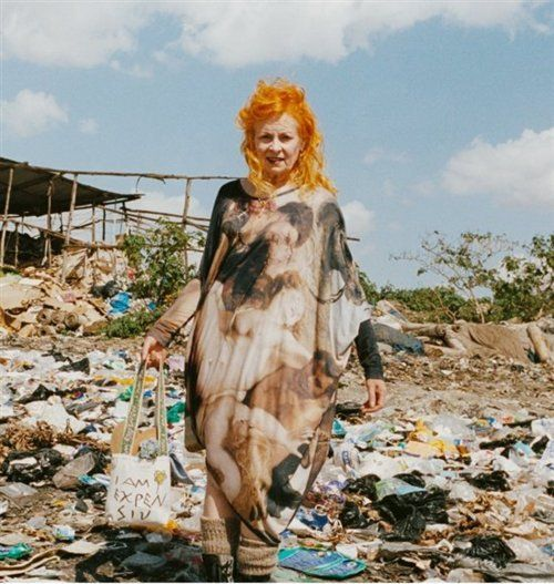 Vivienne Westwood is renowned for her leading role in ethical and sustainable fashion. She says 'this is not charity, this is work'