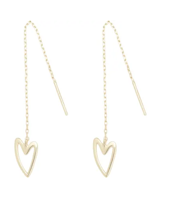 BREAK-UP 'NEEDLE & THREAD' EARRINGS by Tada and Toy £70