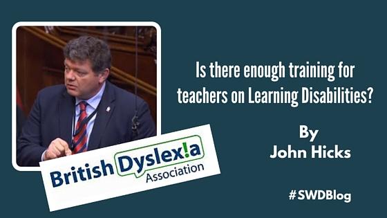 Lord Addington Teacher Training (Learning Difficulties) Act 2016