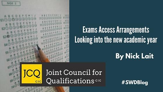 Exams Access Arrangements by Nicks Lait