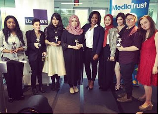 The finalists for the Breaking Into News Competition, Media Trust