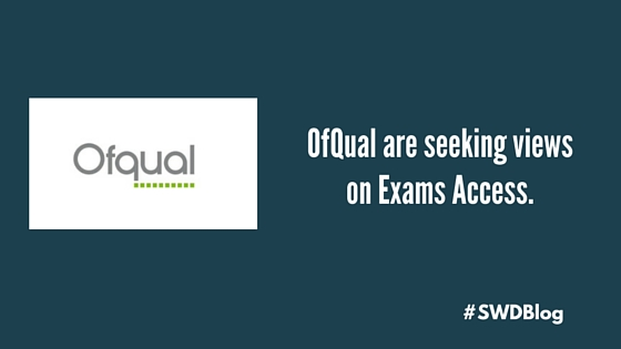 OfQual and exams access