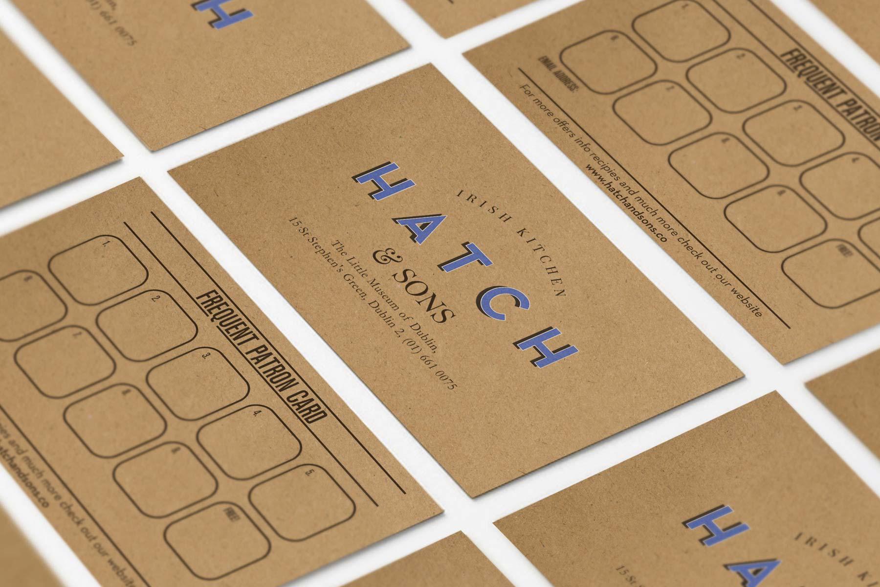 Hatch and Sons  revert design