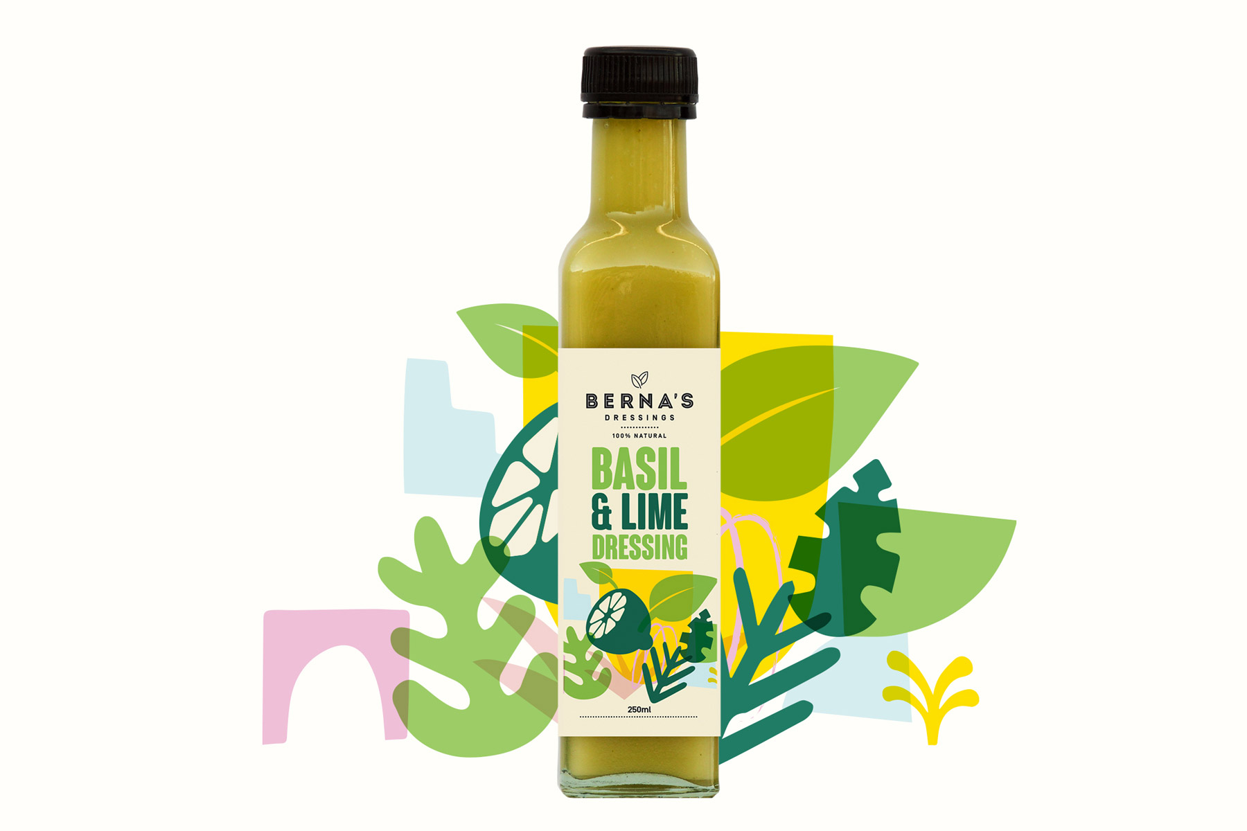 Berna's Dressings  revert design