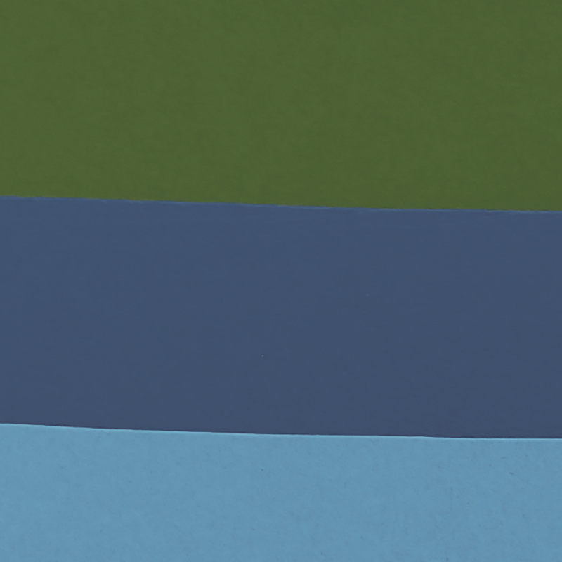Thames Detail - Here you can see the two different shades of wavy blue I used to give depth to the Thames