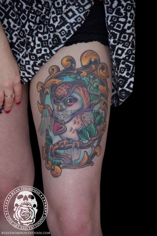 Emily's Owl Tattoo