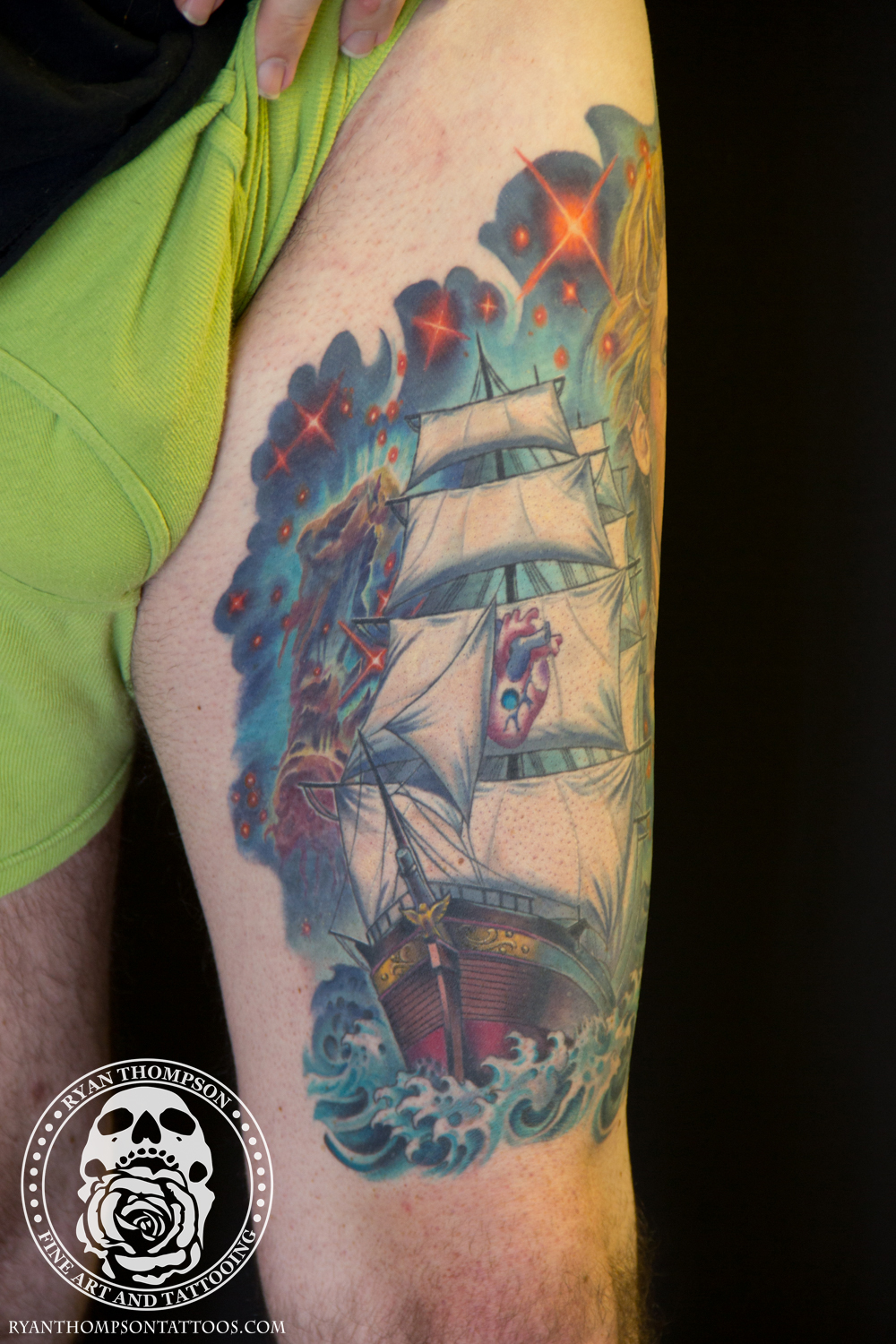 Dan's Ship and Spacey Portrait