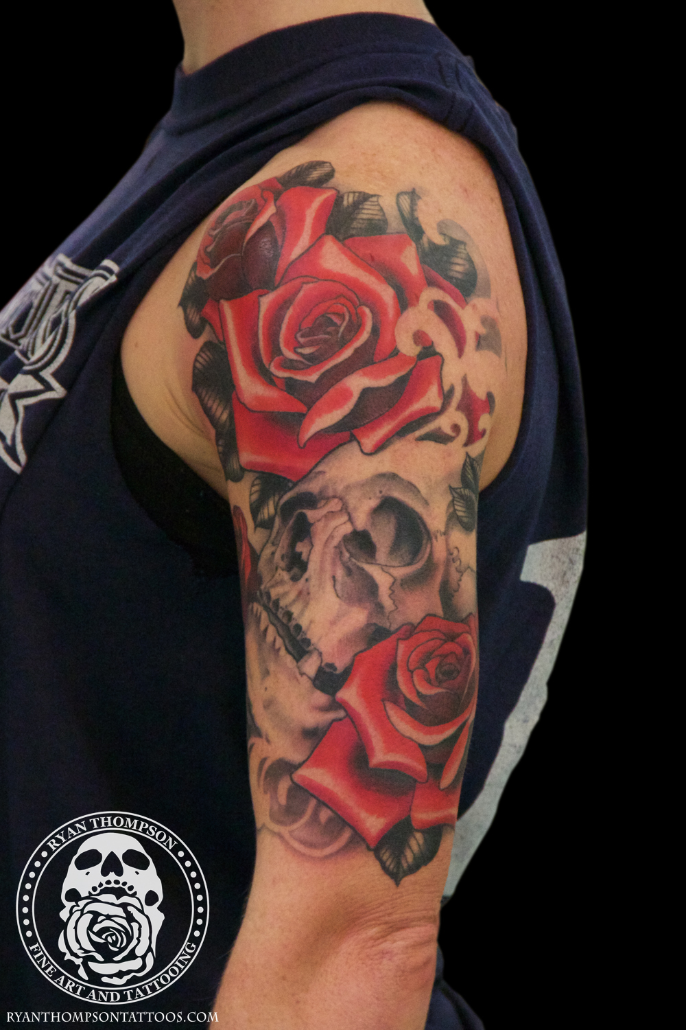 Courtney's Skull and Roses