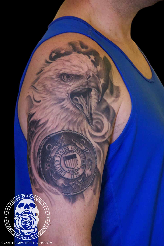 Adam's Coast Guard Eagle