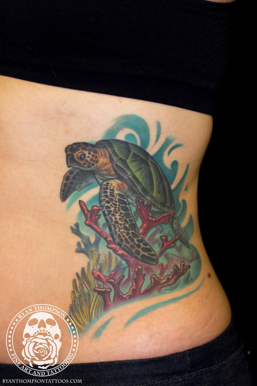 Maegen's Sea Turtle