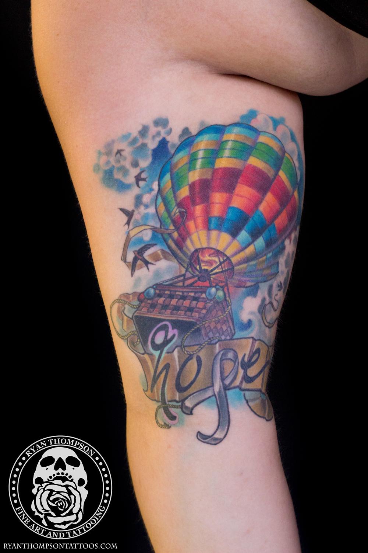 Brittany's Hot Air Balloon