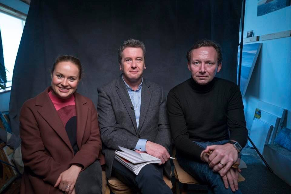 With Clare McQuaid and Darragh Byrne. The Du Plantier Case