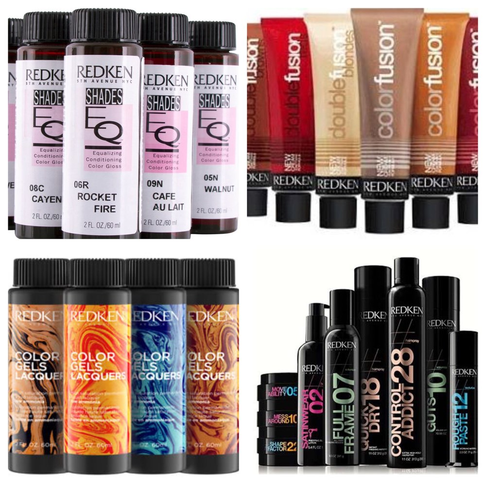 - Redken color &Product
