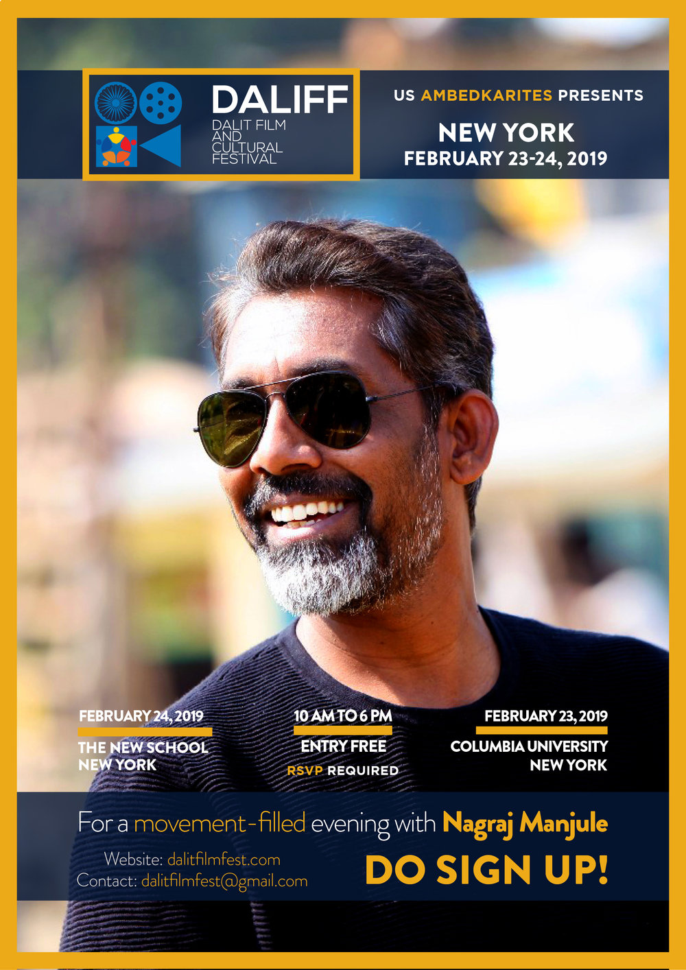 - Nagraj Manjule is an Indian Marathi filmmaker and screenwriter known for his Marathi film Sairat and his first short film, Pistulya, for which he received National Film Award in Non-Feature Film category. He published a book of poetry in Marathi titled Unhachya Katavirudhha which won the Bhairuratan Damani Sahitya Puraskar.At the 61st National Film Awards, Fandry won the Indira Gandhi Award for Best Debut Film of a Director.