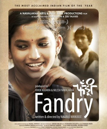 - Fandry (English: Pig) is a 2013 Indian Marathi-language film, written and directed by Nagraj Manjule . The story focuses on a young boy's infatuation amidst caste-based discrimination.