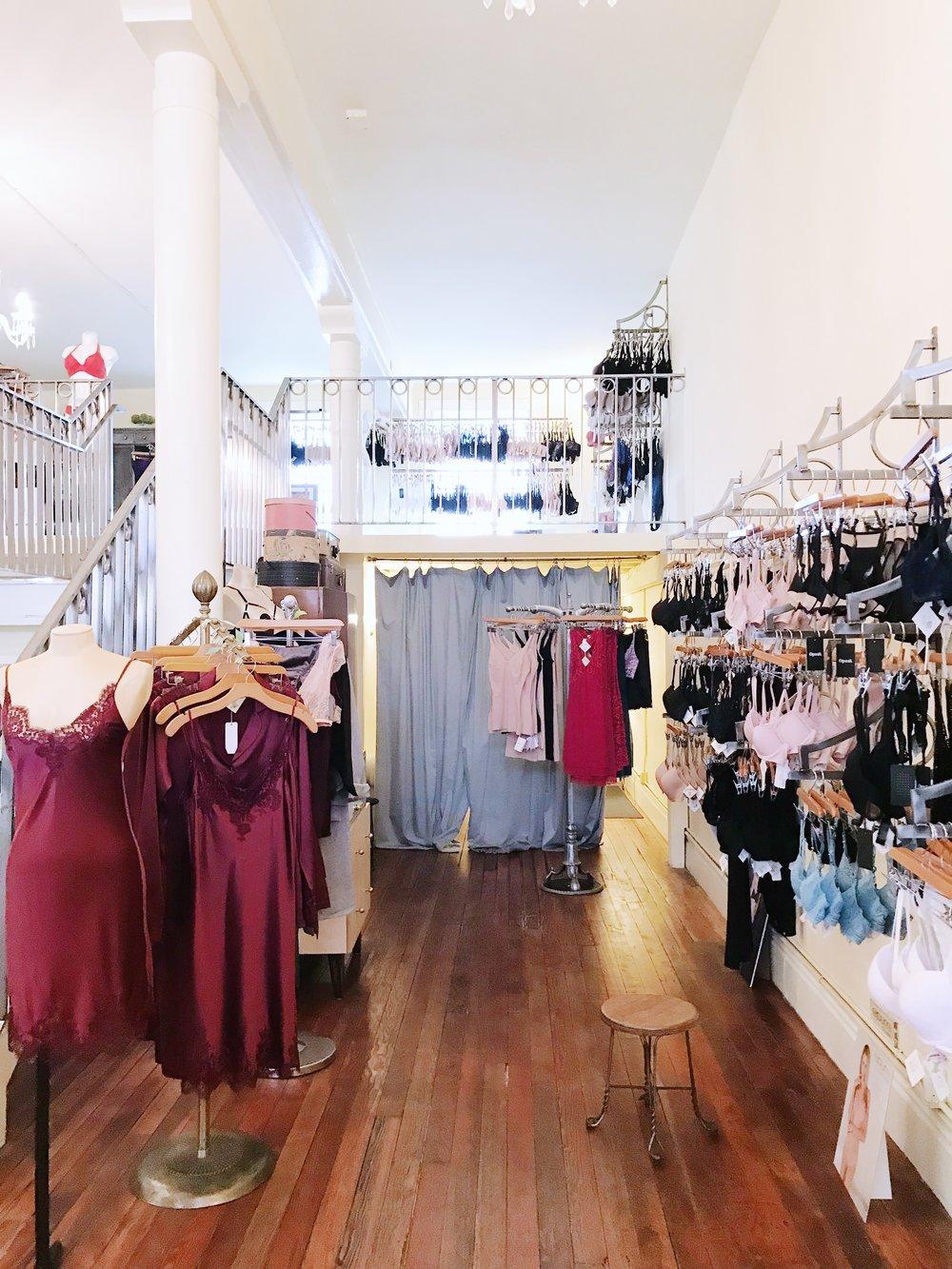 Lingerie Boutique in SF Alla Prima Lingerie Boutique.JPG