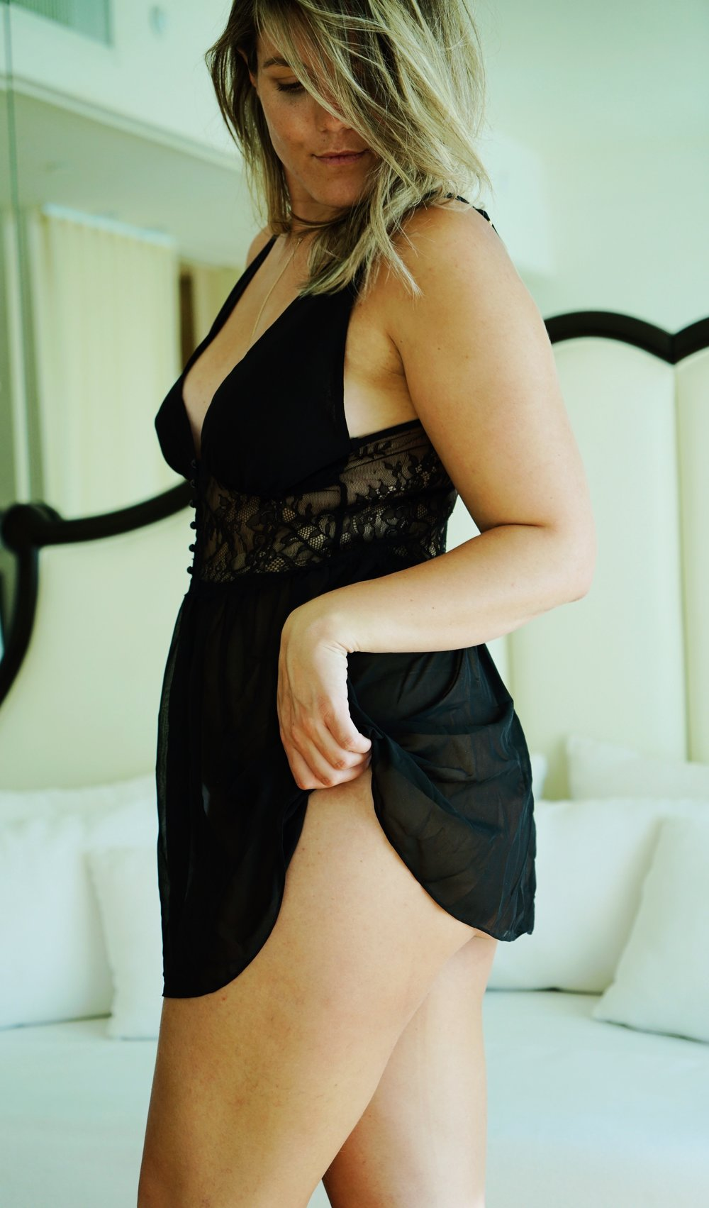Chantilly Chemise in Black by Rya Collection.JPG