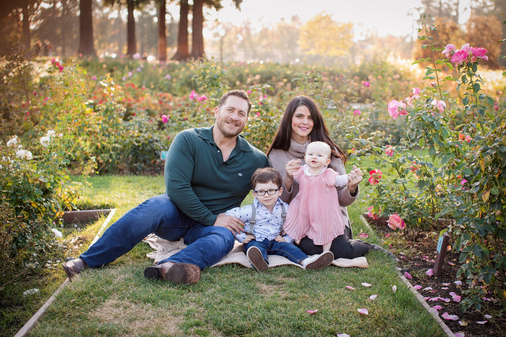 Sarah Lamb and Family